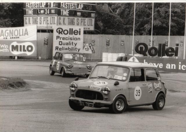 Derek's Mini racer