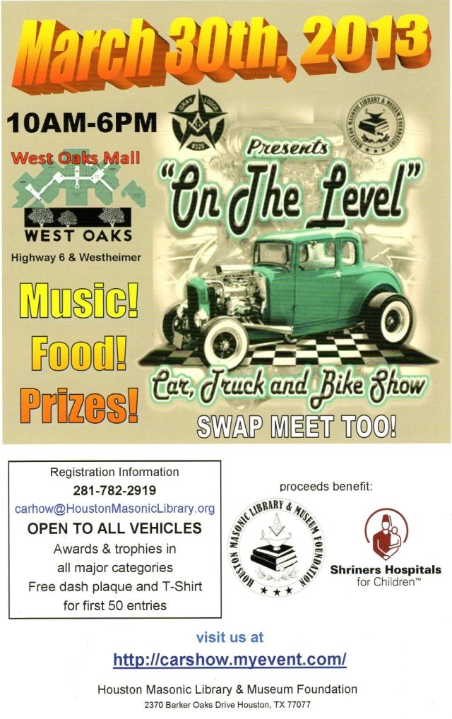 Masonic / Shriners Car show