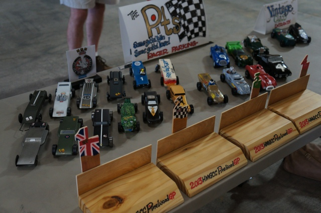 The Pinewood Derby was a roaring success!