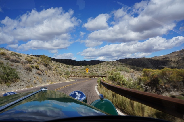 A nice drive through the desert
