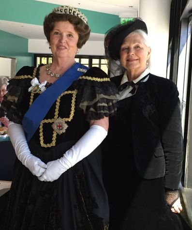Queen Victoria and Lady Leslie
